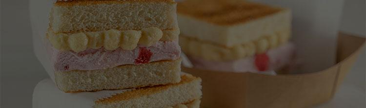 PB and J Ice Cream Sandwiches