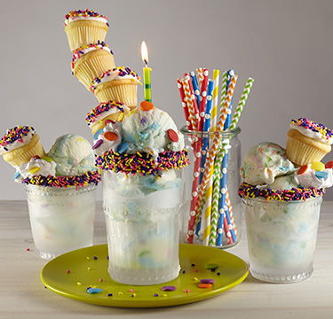 Birthday Party in a Glass