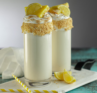 Lemon Meringue Float