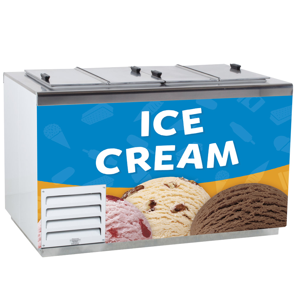 Storage Ice Cream Freezers