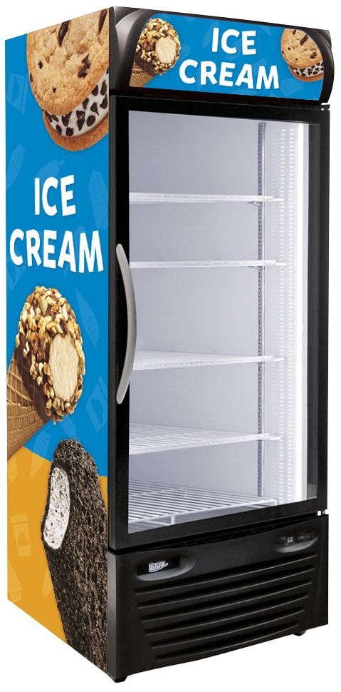 Upright Ice Cream Freezers